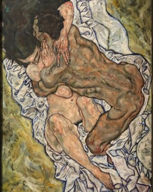 Egon Schiele's The Embrace - one of my favorite artists. Experiencing such a ...