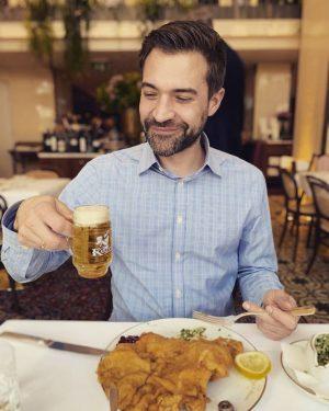 Best Schnitzl ever Meissl & Schadn - Restaurant Vienna