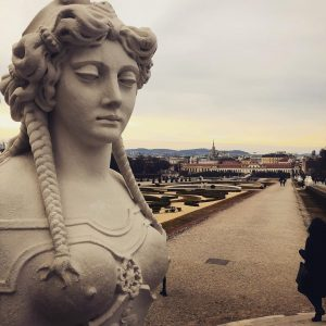 Gardens of Belvedere. #viennaaustria Belvedere, Vienna