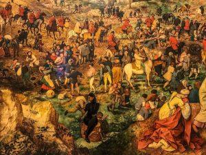 The Procession to Calvary. Pieter Bruegel the Elder. 1564 Kunsthistorisches Museum Vienna
