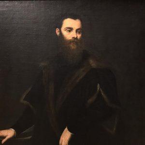 #tintoretto #jacopotintoretto #portrait #maleportrait Kunsthistorisches Museum Vienna
