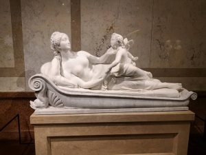 Venus och Amor. Kunsthistorisches Museum Vienna