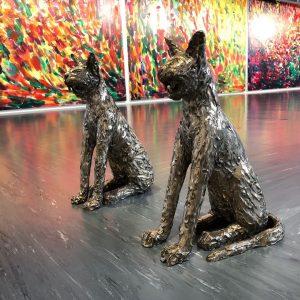 sculptures by @herbertbrandl for #exposedtopainting @belvedere21wien Belvedere 21
