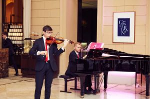 Kempinski Concertini: New concert tomorrow at 17:00 in our beautiful lobby with young ...
