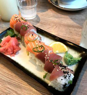 #cafeleopold #sushi #rolls #lecker Cafe Leopold