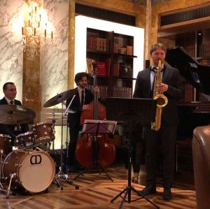 Friday night, Jazz night at the Imperialbar Hotel Imperial, a Luxury Collection Hotel, ...