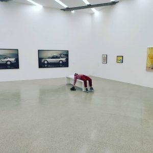 Стать отдельным элементом современного искусства, легко и просто😏 Кстати Вена сегодня нравиться больше🙂 mumok - Museum moderner...
