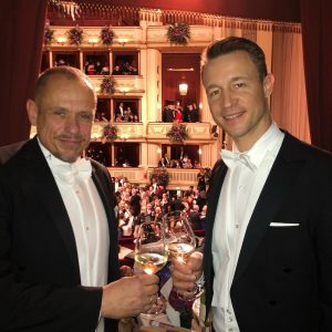 @gernot_bluemel #thankful #besthost #opernball Wiener Staatsoper