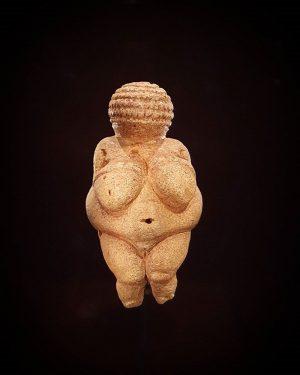 Venus of Willendorf - šią damą turėjau progą pamatyti ir nufotografuoti Natural History ...