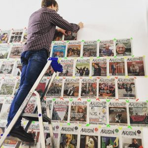 Wir sind schon (fast) bereit für #500 @augustin.boulevardzeitung !!! 😍 #vorfreude #volkskundemuseumwien// via @chicksonwheat Volkskundemuseum Wien