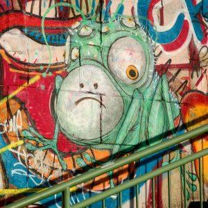 Artist: Unknown Location: #danubecanal #vienna #austria 2019 #viennapaints #streetart #urbanart #arteurbano #arturbain #graffitiart ...