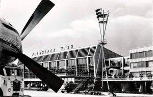 Vienna airport 1958