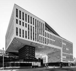 Austria Campus in Vienna. Architect: Boris Podrecca #vienna #igersvienna #igersaustria #lookingup_architecture #archi_features #pocket_architecture #jj_geometry #ptk_architecture #archi_focus_on #architecture_greatshots...