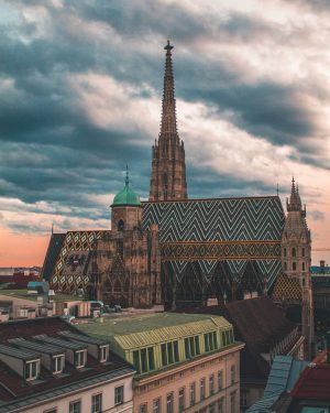 Stephansdom is the mother church of the Roman Catholic Archdiocese of Vienna. The building consists of Romanesque...