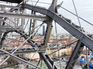 Espectaculares vistas de Viena desde la noria ubicada en el Prater. 🎡🇦🇹 ______________________________________ #wien #osterreich #vienna #viena...