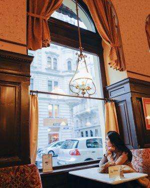 🤎🤎🤎 #travelwithkatepreya #vienna #austria Café Sperl