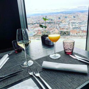 #brunchen#geburtstagsüberraschung#mrandmrs 🍾🥂 57 Restaurant & Lounge by Meliá Vienna