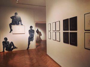 @martin.tardy > still on until March 13th #comefindus #martintardy2020 #soloshow #art #contemporaryartist #vienna #galeriehilger Galerie Ernst Hilger