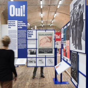 Ok! Oui! Yes! Da! — We're visiting the new exhibition at @architekturzentrum_wien ! ...