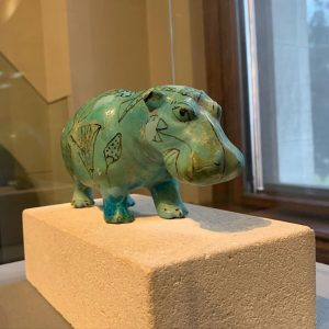 A hippo from 2000 BC at @kunsthistorischesmuseumvienna Kunsthistorisches Museum Vienna