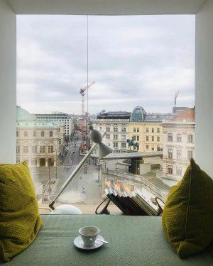 Guten Morgen☕️ #vienna #view #weekend #springinthecity #coffee The Guesthouse Vienna