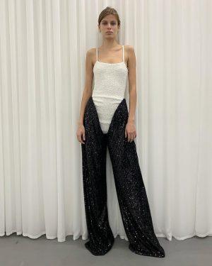 who needs an evening dress #sequinoverall #yproject #aw2021 #parisfahionweek #park_vienna #wien #paris
