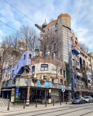 Works by Friedensreich Hundertwasser can be seen all over the world- from Austria, to New Zealand, to...