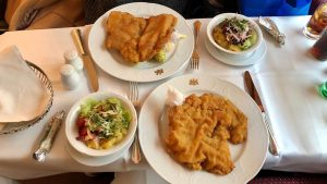 Wiener Schnitzel 😋 Hotel Imperial, a Luxury Collection Hotel, Vienna