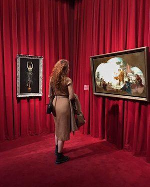 Красный ❤️ Leopold Museum