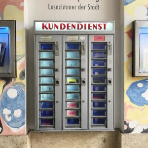 Super cute vending machine🤍 #Vienne #Wien #vendingmachine #austriandesign #ウィーン #デザイン #販売機 #🇦🇹