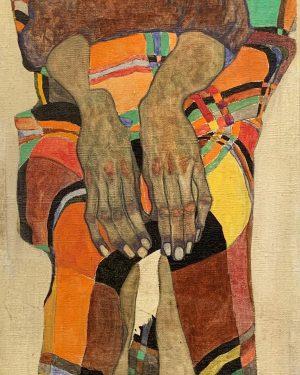 Schiele's hands Leopold Museum