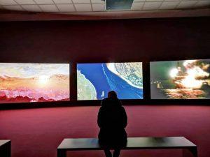 John Akomfrah Vertigo Sea 2015 #johnakomfrah #vertigosea #secession #installation #colorvideoinstallation