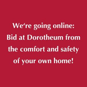 Dear Friends of Dorotheum, ⠀⠀⠀⠀⠀⠀⠀⠀⠀ Bid from the comfort of your own home: In order to protect...