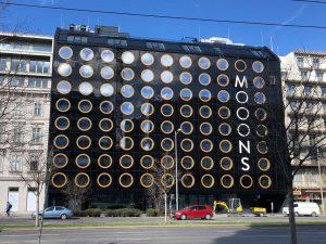 Смотрите, какой необычный отель готовится к открытию в Вене. Отель Moons #Вена #Австрия