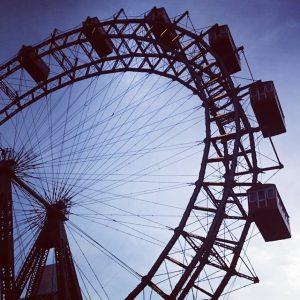 #Erinnerungen #prater #wien #riesnrad #blauerhimmel #fotografieren Wiener Prater