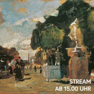 Ist euch auch nach Sonnenschein? Markus Hübl nimmt uns mit auf einen Spaziergang durch Tina Blaus Gemälde...