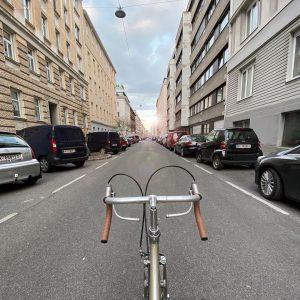 Vienna behind handlebars (2) . . . #bikeshit #lensflare #endofthetunnel #deception #behindhandlebars #vintagebike ...