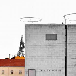 MuseumsQuartier: something new pops up soon! #newarchitecture @mqwien @leopold_museum • • • #architecturephotography ...