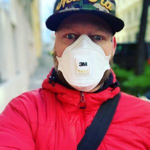 Jetzt gibt's net viel Fragen! Einfach Maske tragen!!.. #zusammenschaffenwirdas #3m #atemschutzmaske #covid_19 #vienna #viennacity #igersvienna #igersaustria #miteinanderabstandhalten...