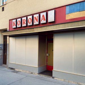 KORONA #korona #store #corona #covid_19 #oldschool #sign #signage #signporn #signgeeks #typography #foundtype #typeface ...