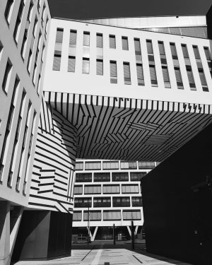 Austria Campus by architect Boris Podrecca . . . #shapesandforms #perspective #super_architecture #tv_pointofview ...