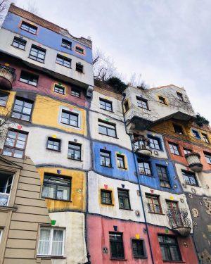 Hundertwasser colourful houses 🎨 . . . . . . . . . ...
