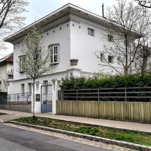 Austria 🇦🇹 Vienna 1180 Währing Sternwartestraße 70 Villa Gessner Hubert Gessner, Franz Gessner 1907 * #austria #österreich...