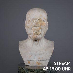 Wenn Enttäuschung ein Gesicht hätte, es wäre dieses. Franz Xaver Messerschmidts Charakterköpfe sind ...