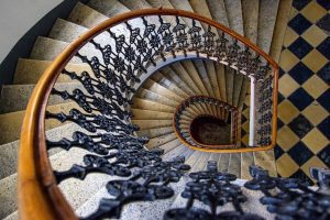 The elegance of Vienna staircases.  I.am.mo_  . . . . . #visitaustria #igersvienna #vienna_city #vienna_austria...