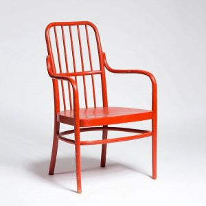 In 1928 the company Thonet Mundus produced this chair A63, which was obviously derived from Josef Frank's...
