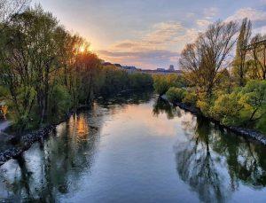 Unser Donaukanal! 💚Er berührt sieben Wiener Bezirke und ist Lebensraum für eine vielfältige Flora und Fauna. Aus...
