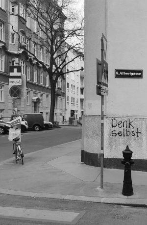 Tu es! #denkselbst . . . | found in vienna 8 | . . . #igersvienna #igersaustria...