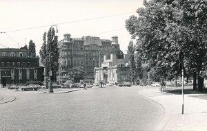 Spazierte man im Mai 1961 über den Karlsplatz Richtung Secession, sah es ungefähr so aus (Foto ©...