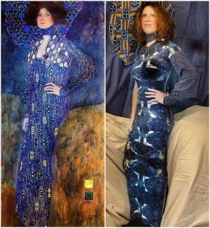"""Vielen Dank an @lolou80 für diese wunderbare """"hommage à Gustav Klimt"""" 🤩 Gustav ..."""